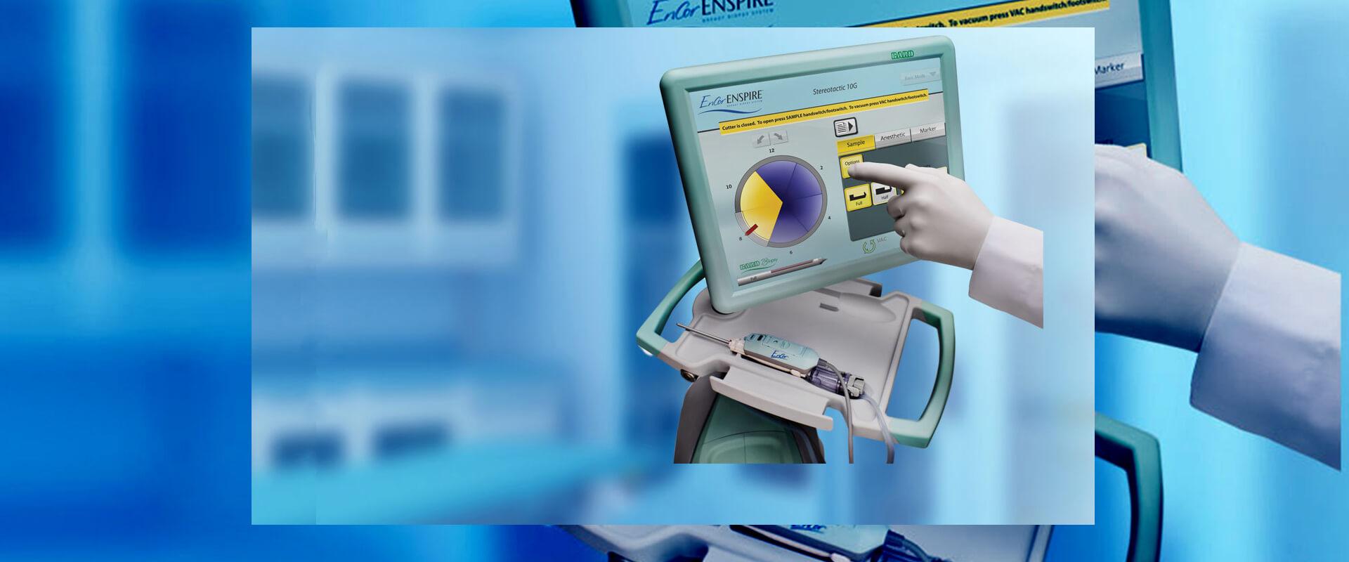 Pierwszy inteligentny system do biopsji